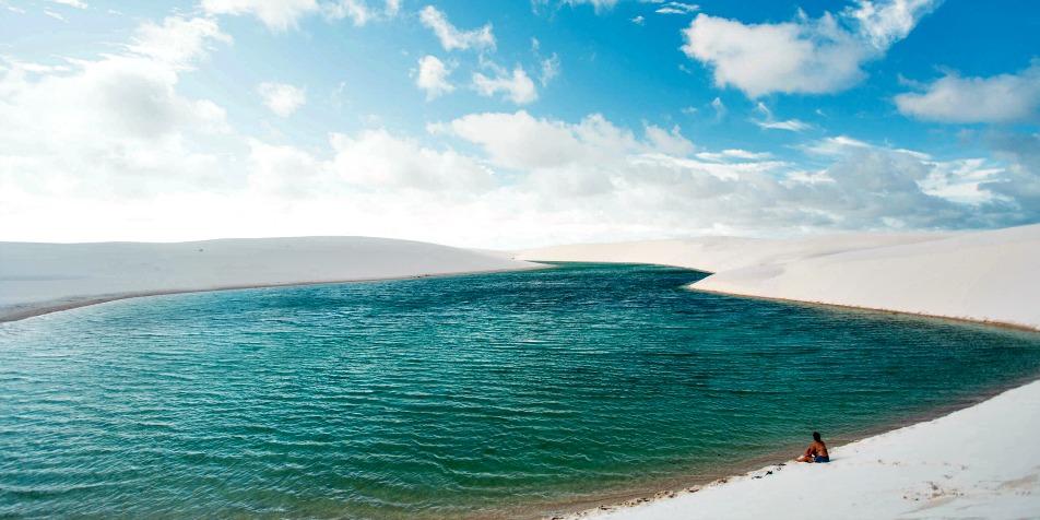 As dunas dos Lençóis