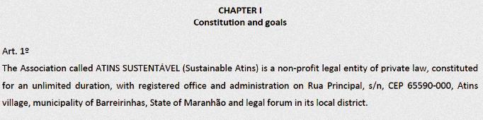 Constitution Atins Sustentável